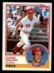 1983 Topps #243  Duane Walker  Front Thumbnail