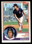 1983 Topps #625  Ken Forsch  Front Thumbnail