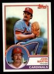 1983 Topps #721  John Martin  Front Thumbnail