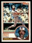 1983 Topps #59  Benny Ayala  Front Thumbnail