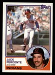 1983 Topps #569  Jack Perconte  Front Thumbnail
