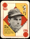 1951 Topps Red Back #34  Grady Hatton  Front Thumbnail