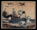 1939 Gum Inc. War News Pictures #94   British Destroyer Fights off Nazi Planes Front Thumbnail