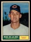 1961 Topps #191  Mike de la Hoz  Front Thumbnail