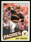 1985 Topps #299  Andy Hawkins  Front Thumbnail