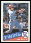1985 Topps #667  Dave Engle  Front Thumbnail