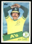 1985 Topps #319  Jeff Jones  Front Thumbnail