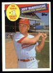 1985 Topps #272  Jeff Burroughs  Front Thumbnail