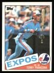 1985 Topps #578  Terry Francona  Front Thumbnail