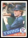 1985 Topps #741  John Butcher  Front Thumbnail