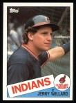 1985 Topps #504  Jerry Willard  Front Thumbnail