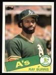 1985 Topps #758  Ray Burris  Front Thumbnail