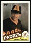 1985 Topps #558  Carmelo Martinez  Front Thumbnail