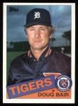 1985 Topps #744  Doug Bair  Front Thumbnail