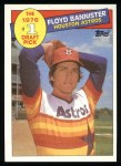 1985 Topps #274  Floyd Bannister  Front Thumbnail