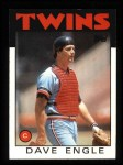 1986 Topps #43  Dave Engle  Front Thumbnail