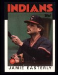 1986 Topps #31  Jamie Easterly  Front Thumbnail