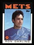 1986 Topps #225  Ron Darling  Front Thumbnail