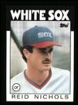 1986 Topps #364  Reid Nichols  Front Thumbnail