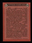 1986 Topps #403   -  Willie Mays TBC Turn Back The Clock Back Thumbnail