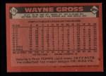 1986 Topps #173  Wayne Gross  Back Thumbnail