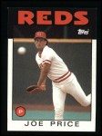 1986 Topps #523  Joe Price  Front Thumbnail