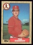 1987 Topps #338  Tim Conroy  Front Thumbnail