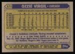 1987 Topps #571  Ozzie Virgil  Back Thumbnail