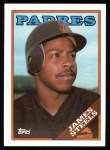 1988 Topps #117  James Steels  Front Thumbnail