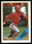 1988 Topps #612  Curt Ford  Front Thumbnail