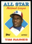 1988 Topps #403   -  Tim Raines All-Star Front Thumbnail