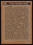 1988 Topps #662   -  Jim Rice Turn Back The Clock Back Thumbnail