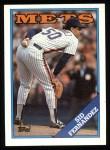 1988 Topps #30  Sid Fernandez  Front Thumbnail