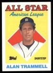 1988 Topps #389   -  Alan Trammell All-Star Front Thumbnail