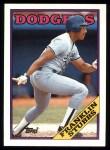 1988 Topps #198  Franklin Stubbs  Front Thumbnail