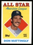 1988 Topps #386   -  Don Mattingly All-Star Front Thumbnail