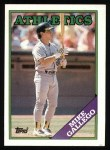 1988 Topps #702  Mike Gallego  Front Thumbnail
