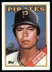 1988 Topps #322  Vicente Palacios  Front Thumbnail