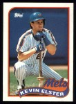 1989 Topps #356  Kevin Elster  Front Thumbnail