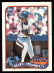 1989 Topps #300  Darryl Strawberry  Front Thumbnail
