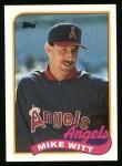 1989 Topps #190  Mike Witt  Front Thumbnail