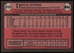 1989 Topps #690  Doug Jones  Back Thumbnail