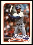 1989 Topps #331  Curt Wilkerson  Front Thumbnail