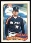 1989 Topps #305  Dave Smith  Front Thumbnail