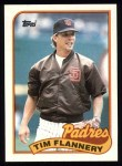 1989 Topps #379  Tim Flannery  Front Thumbnail