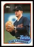 1989 Topps #239  Tim Laudner  Front Thumbnail