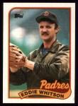 1989 Topps #516  Eddie Whitson  Front Thumbnail