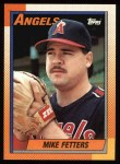 1990 Topps #14  Mike Fetters  Front Thumbnail
