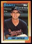 1990 Topps #620  Tony Castillo  Front Thumbnail
