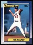 1990 Topps #173  Tim Belcher  Front Thumbnail